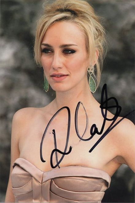 Ruta Gedmintas, Lip Service, The Strain, signed 6x4 inch photo.